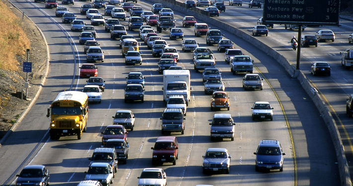 It is estimated that Angelenos spend an average of 81 hours a year stuck in traffic.