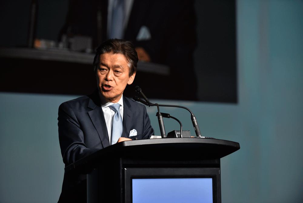 Opening ceremony - Masaki Ogata, UITP President (2015-2017) - © UITP / P. Bourque