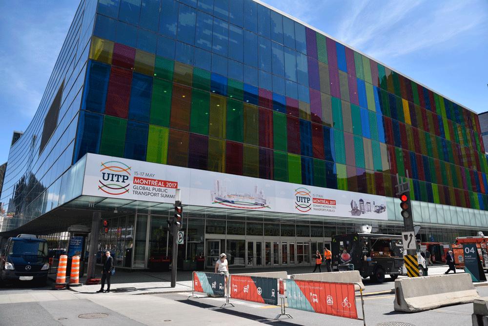 Palais des Congrès de Montréal (Montréal's convention centre) - © UITP / P. Bourque
