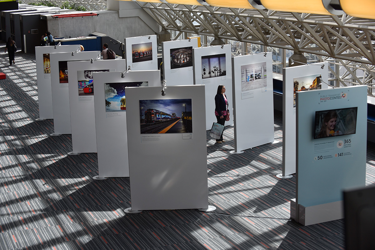 UITP Photo Contest Exhibition © UITP / P. Bourque
