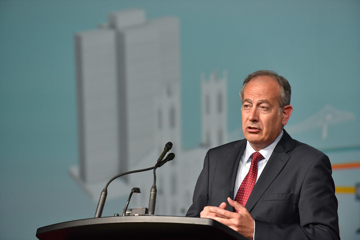 Pere Calvet, new UITP President - © UITP / P. Bourque