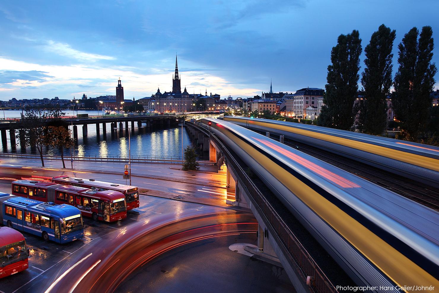 transport i stockholm
